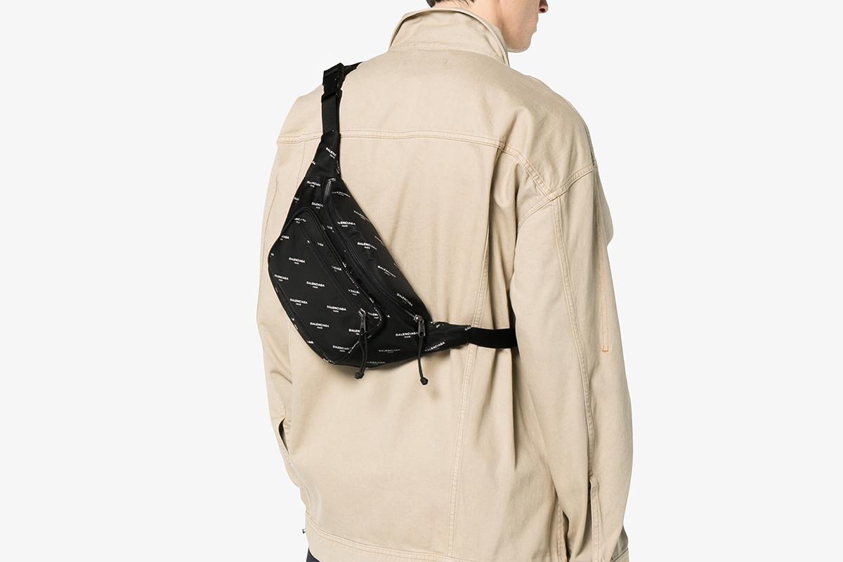 All-Over Log Cross-Body Bag