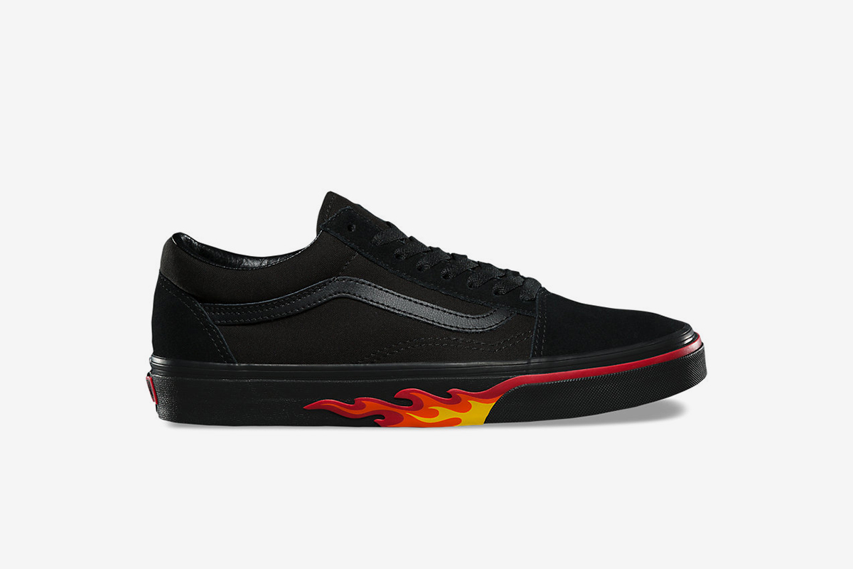 Flame Wall Old Skool