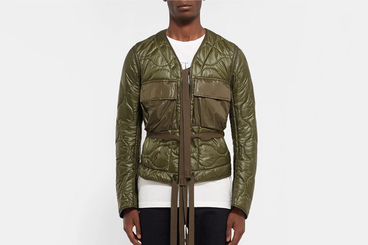 Quilted Shell Primaloft Bomber