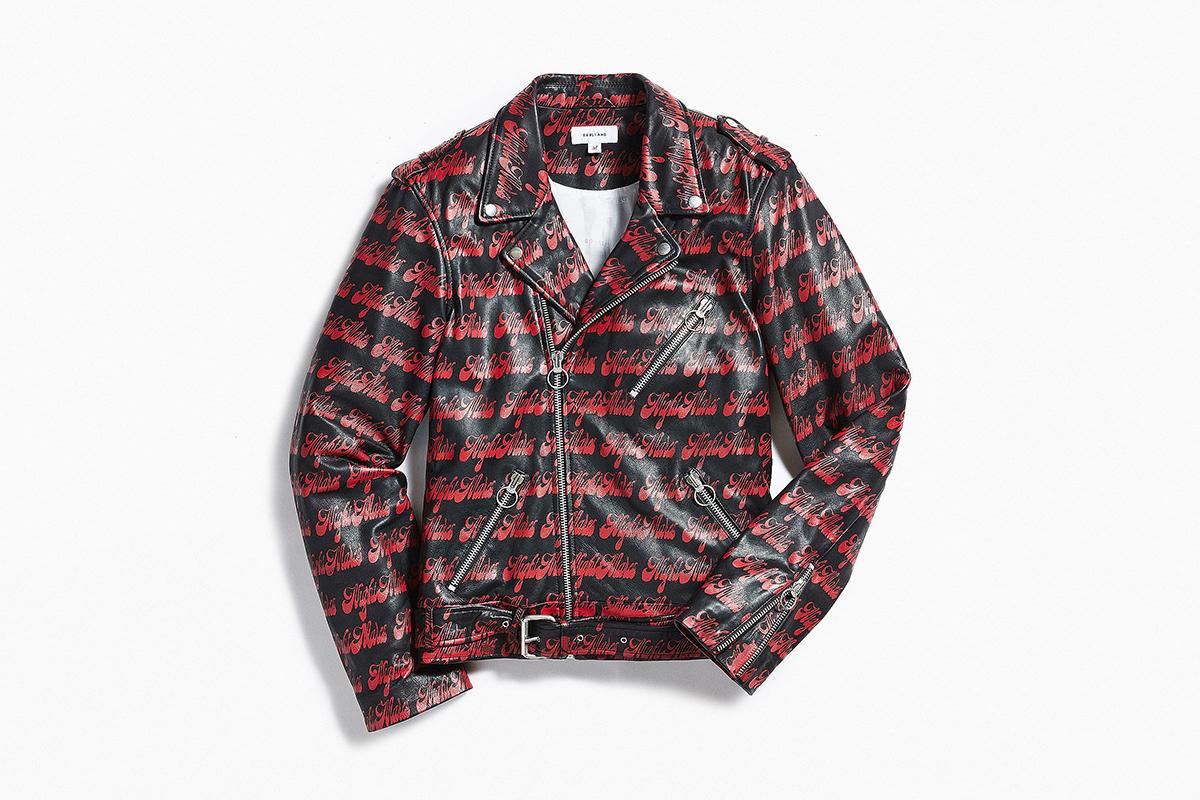 Rhinbeck Leather Biker Jacket