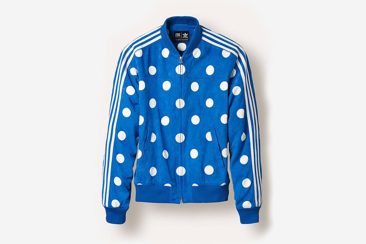 adidas Originals x Pharrell Williams Track Top 'Big Polka Dot'