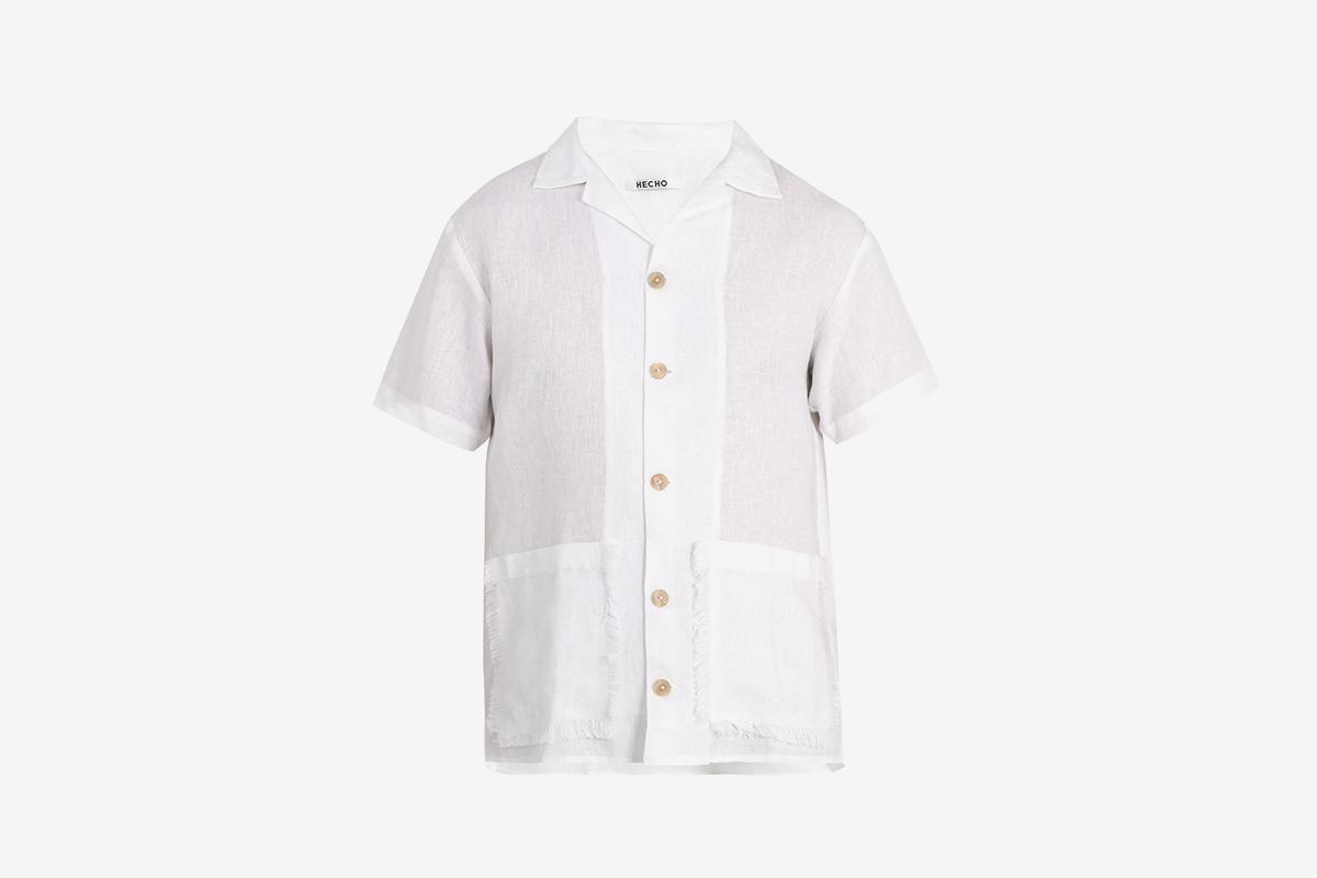 Patch Pocket Linen Shirt