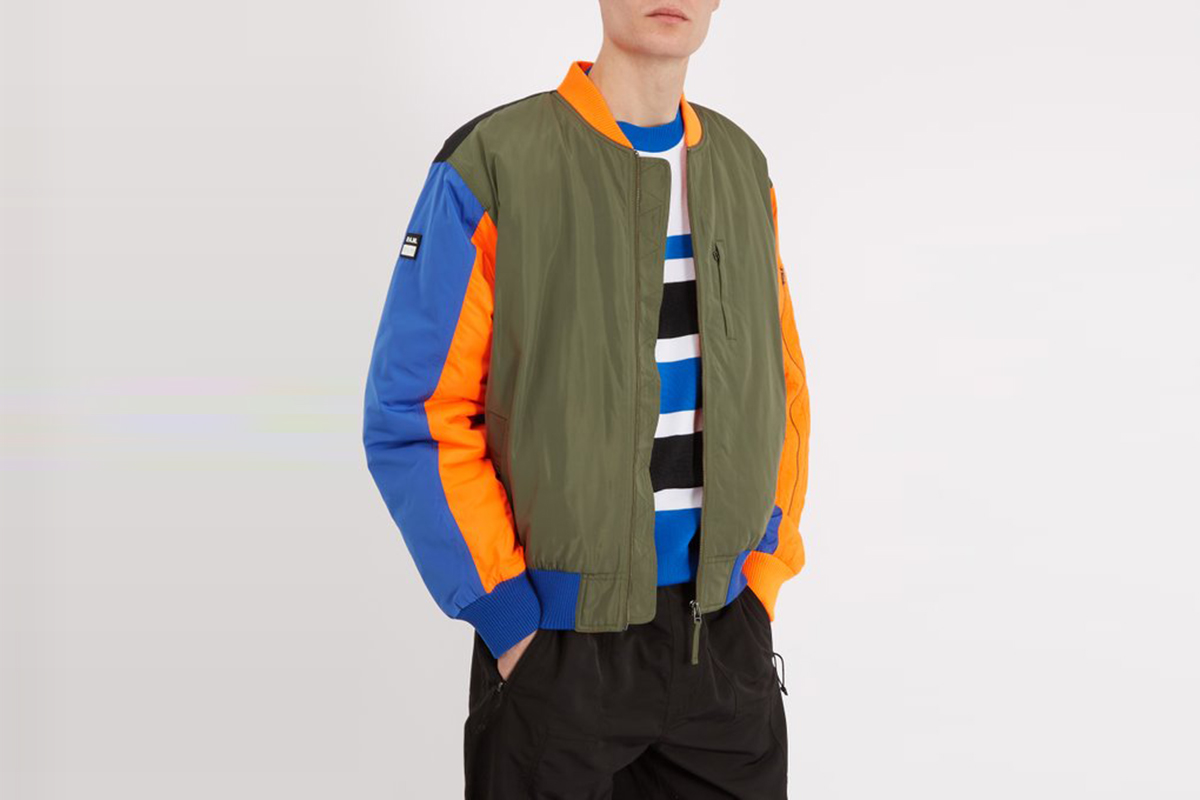 Perspective Bomber Jacket