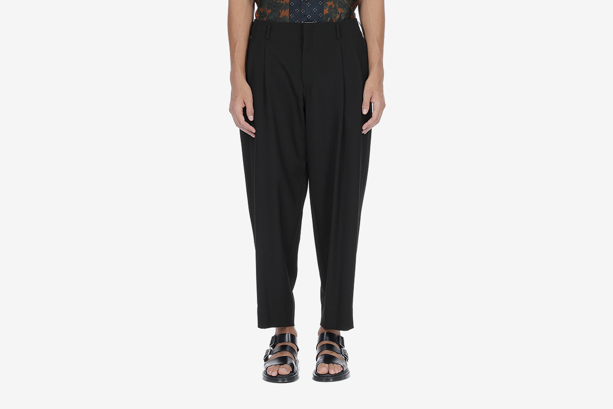 Pleated Loose Trousers