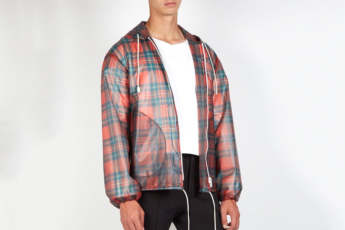 Tartan Hooded Jacket