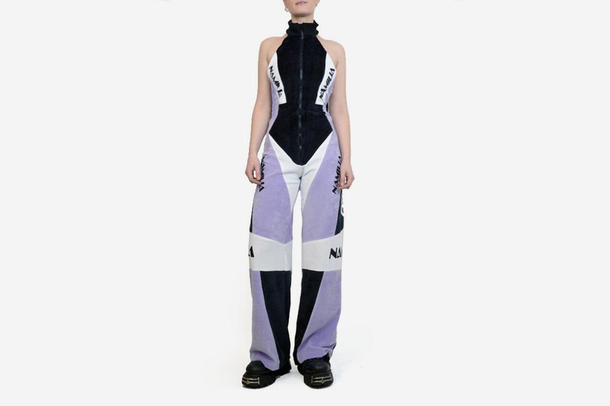 Velour Jumpsuit