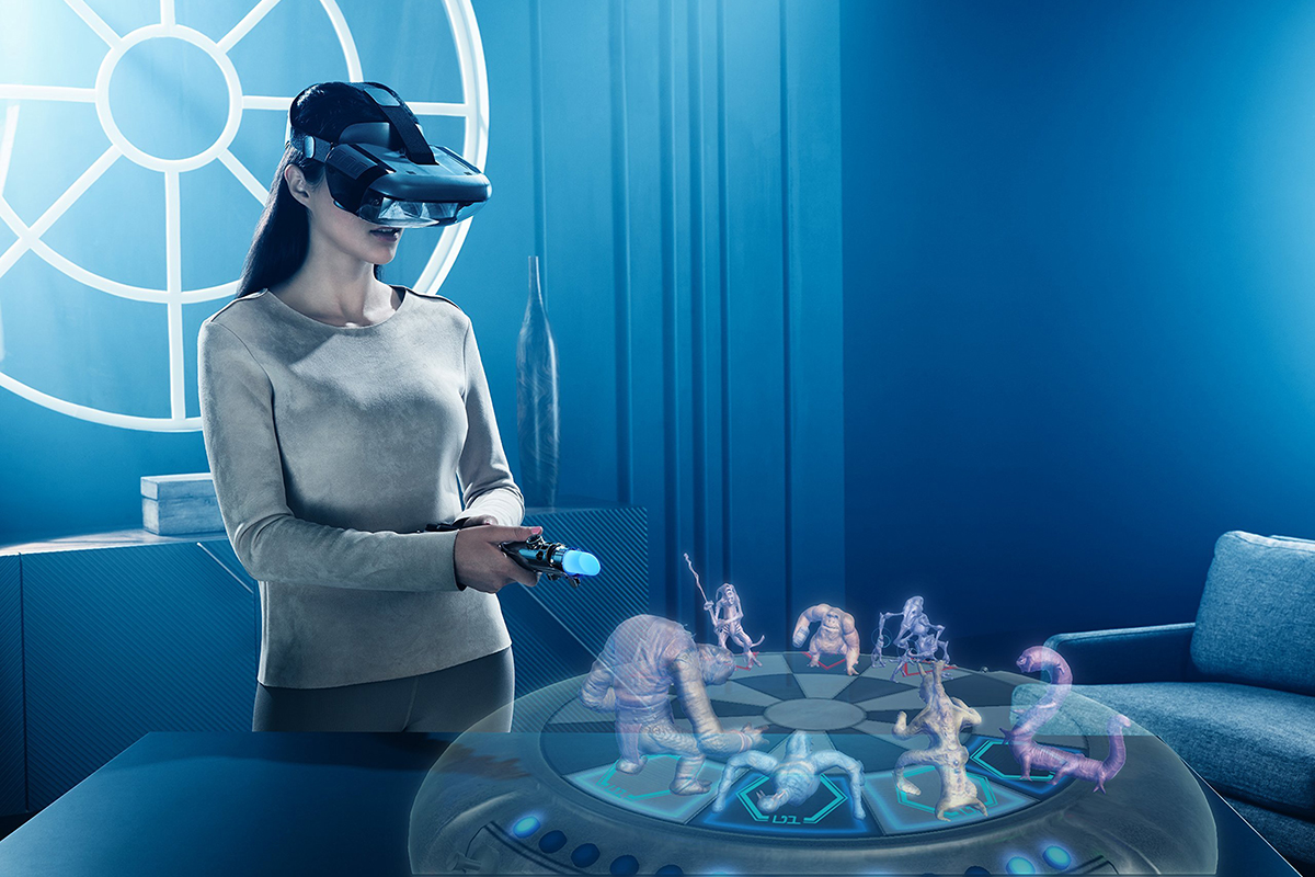 Jedi Challenges AR Experience