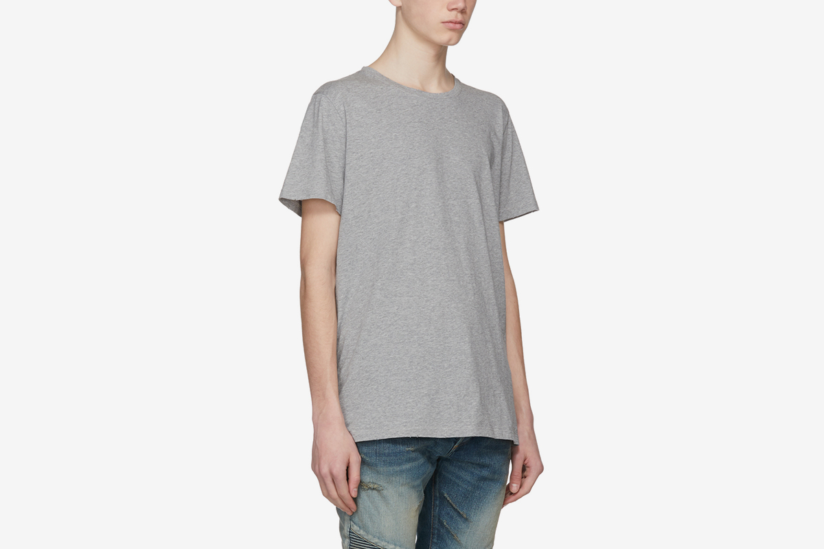 Three-Pack Distressed T-Shirts