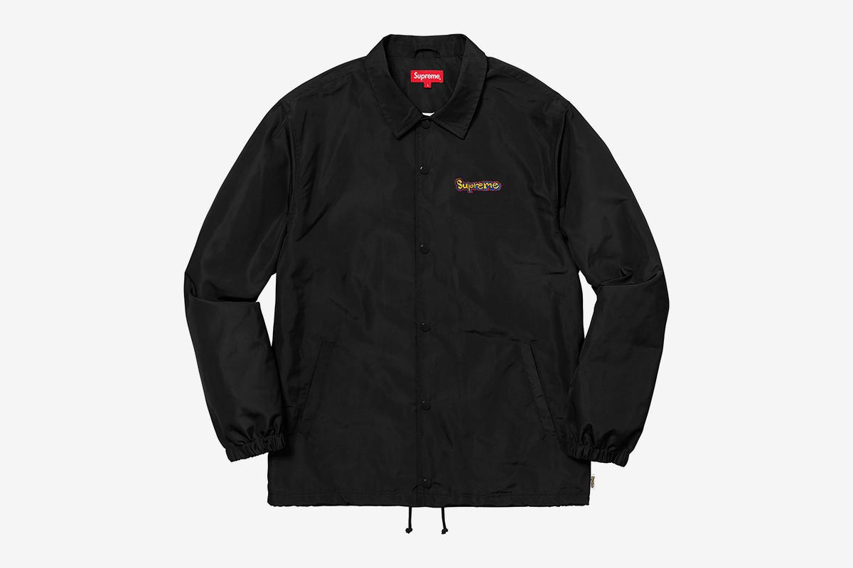 Gonz Logo Coaches Jacket