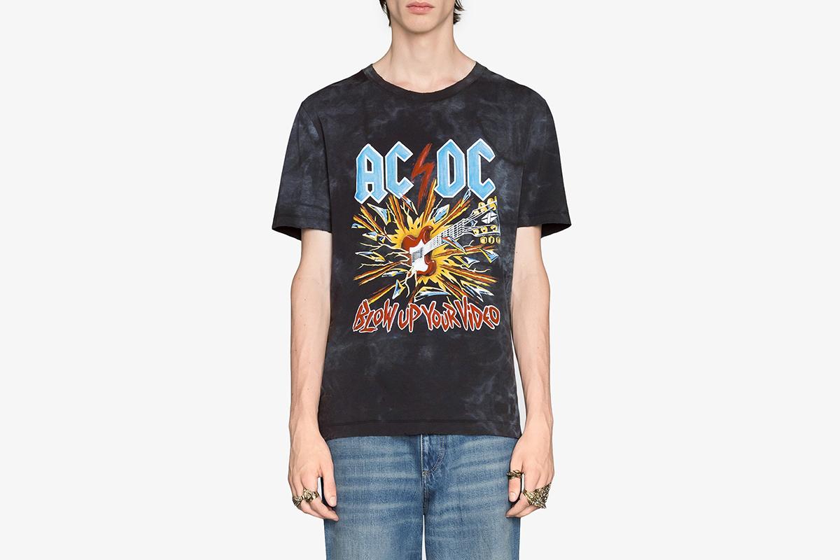 AC/DC Tie Dye T-Shirt
