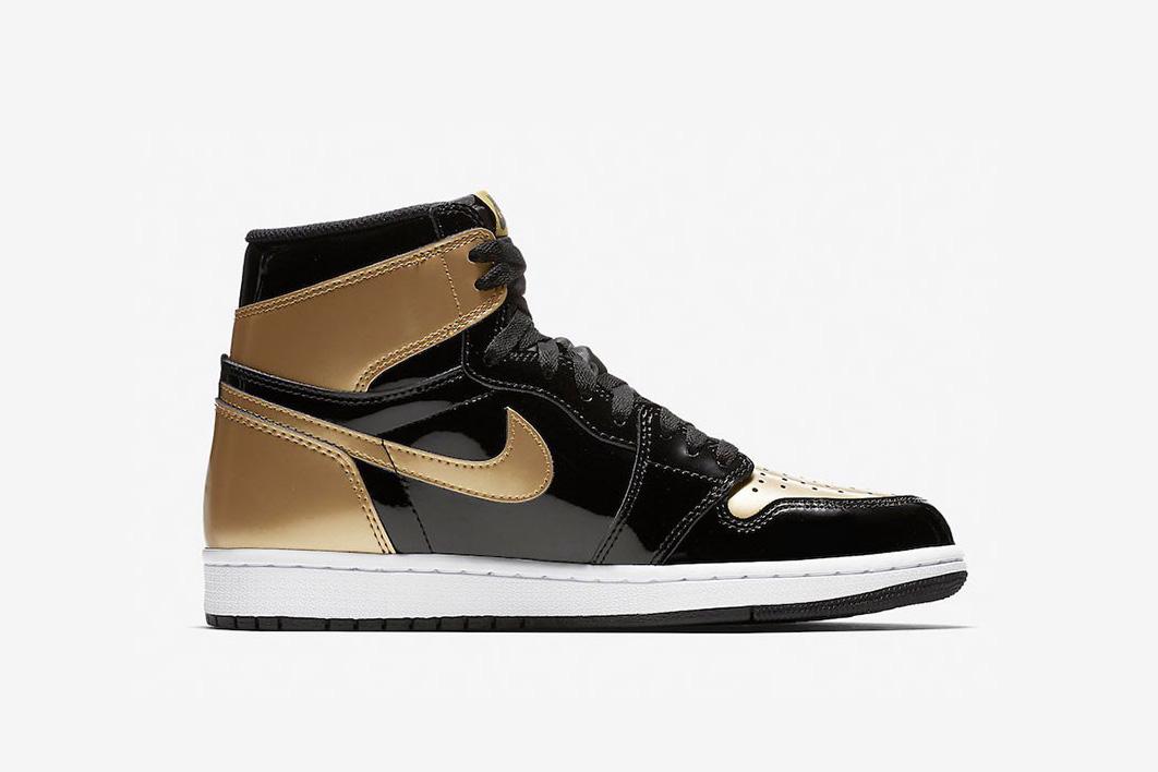 Air Jordan 1 Retro High OG Gold Toe