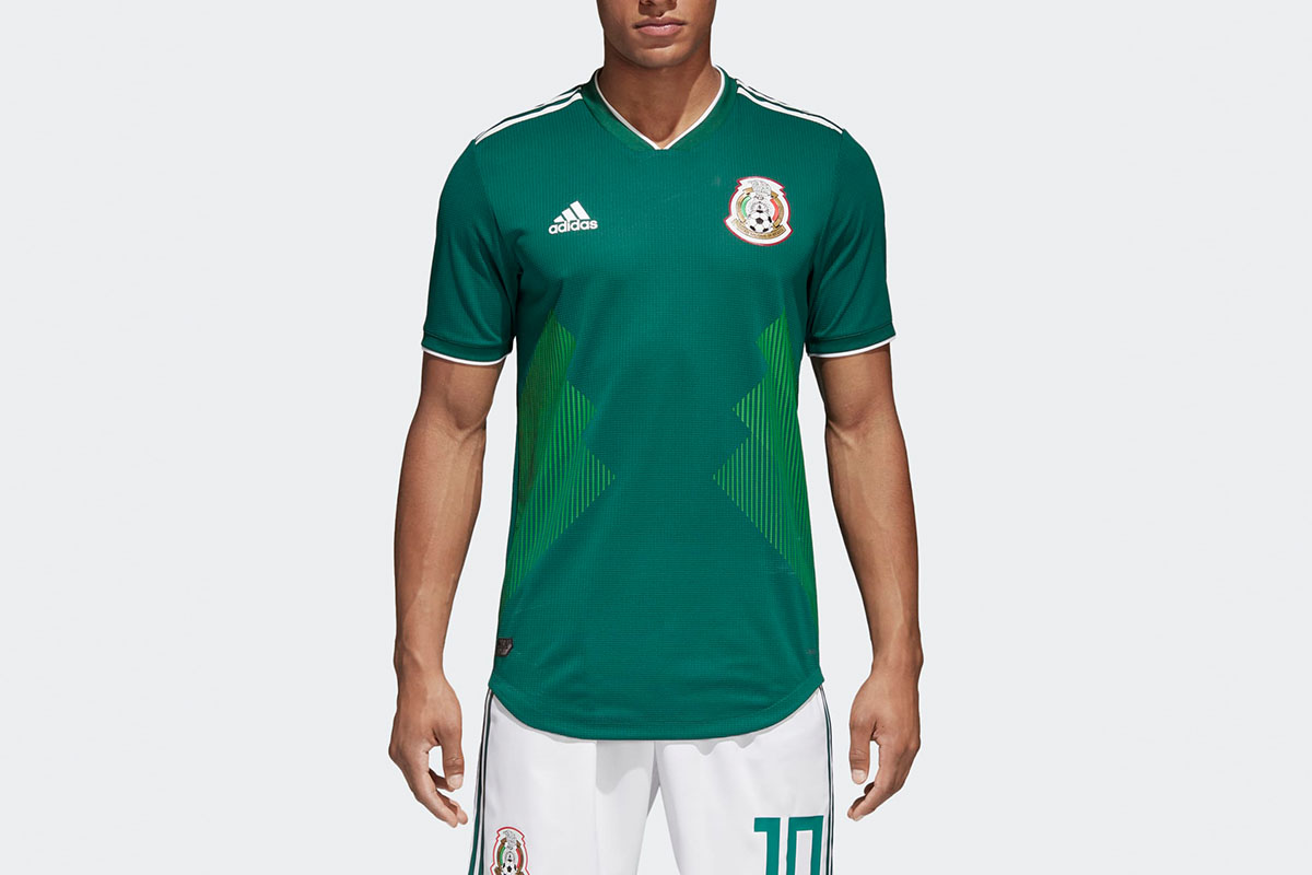 Mexico Home Authentic Jersey