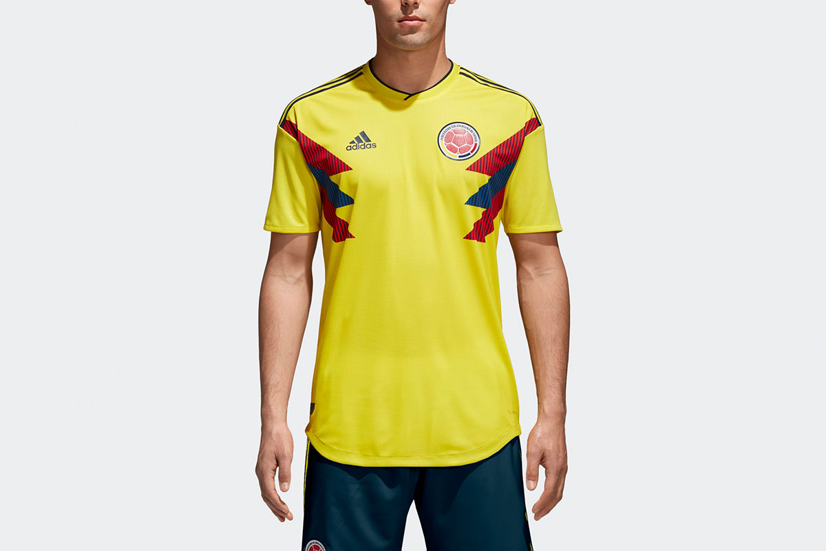 Colombia Home Authentic Jersey