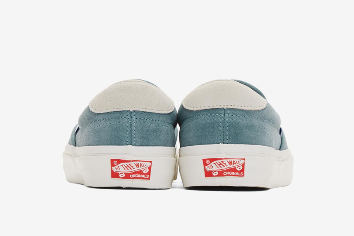 Suede Slip On Sneaker