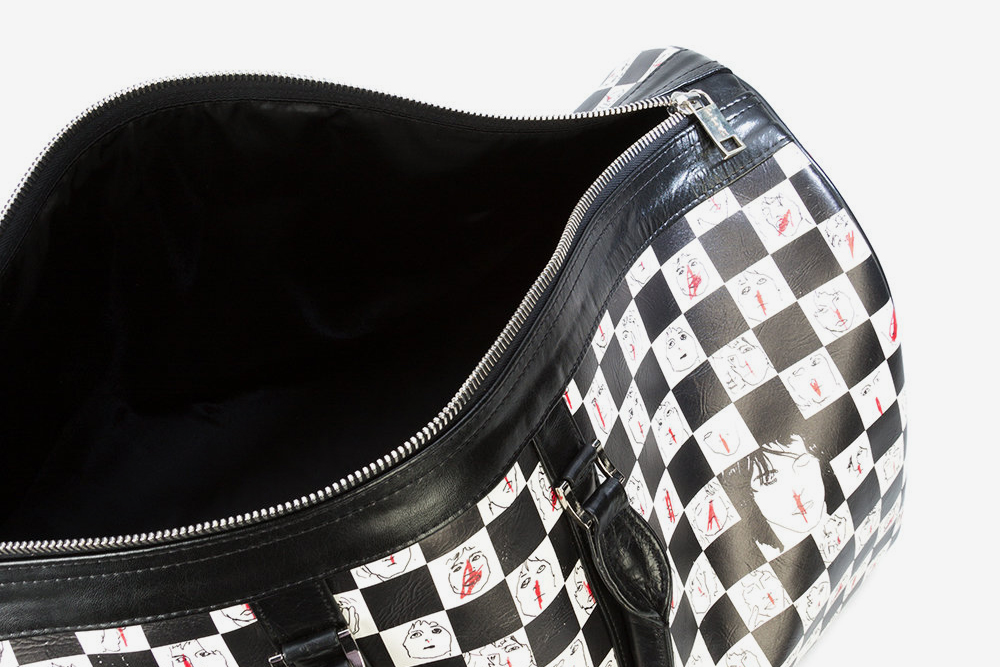 Checkered Duffle Bag