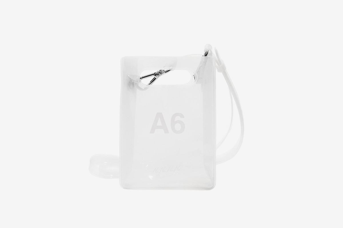 A6 Transparent Bag