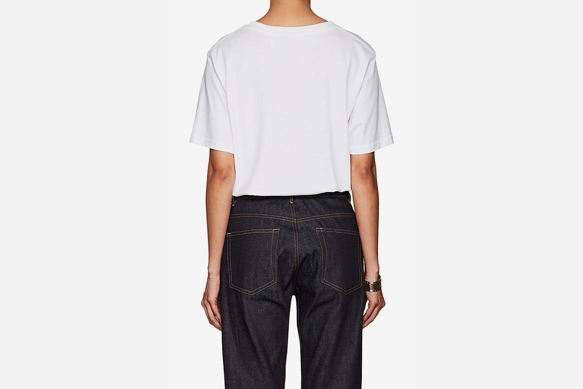 Unisex Graphic Jersey Slim T-Shirt