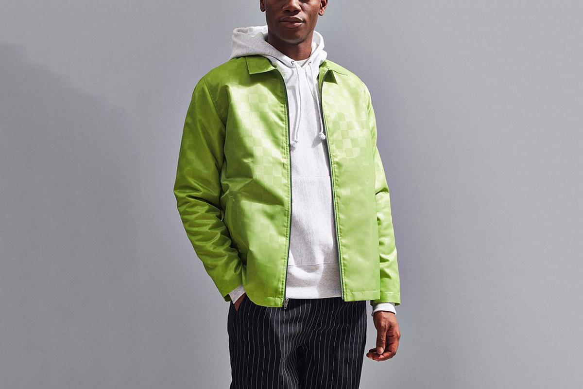 Tonal Check Jacket