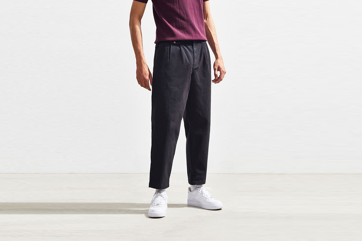 Pleated Dad Pants