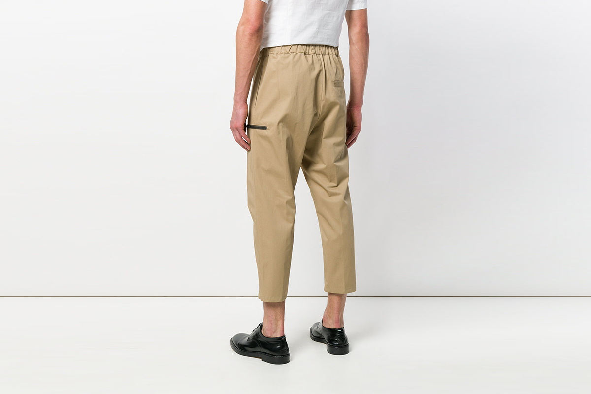 Cropped Trosers