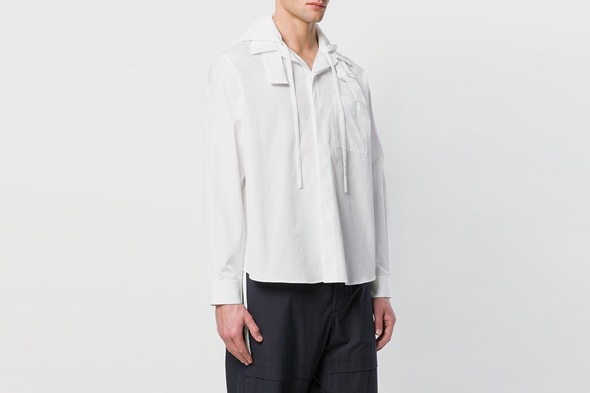Hooded Shirt