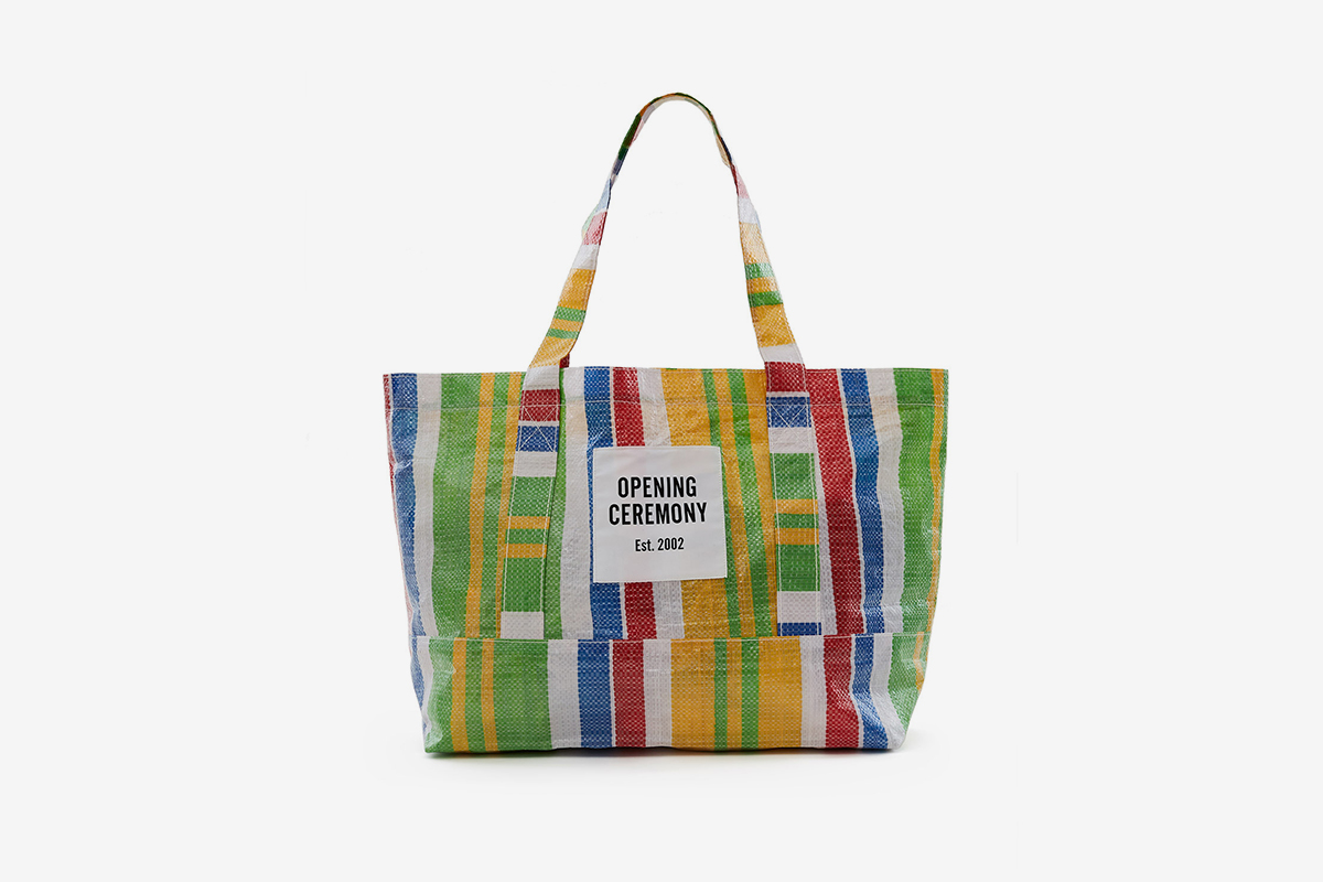 Striped Tote Bag Medium