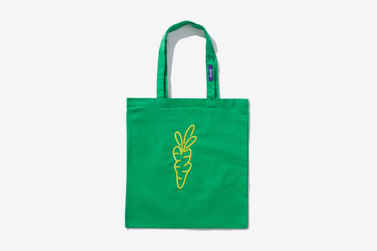 Signature Carrot Tote Bag