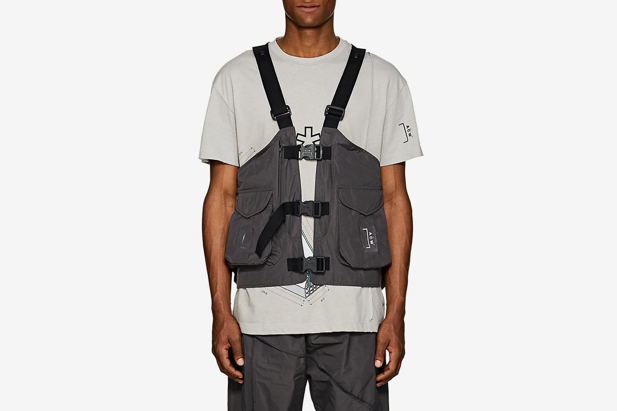 Tech-Taffeta Cargo Vest