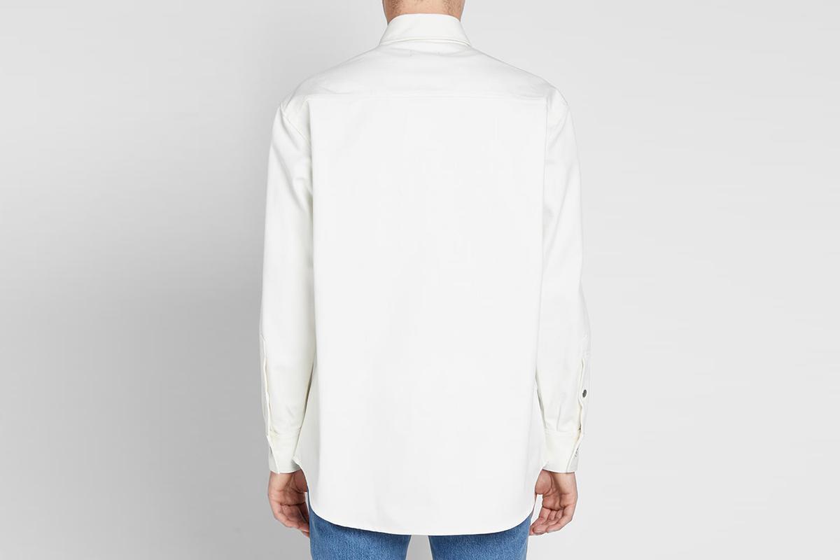 Patch Denim Shirt