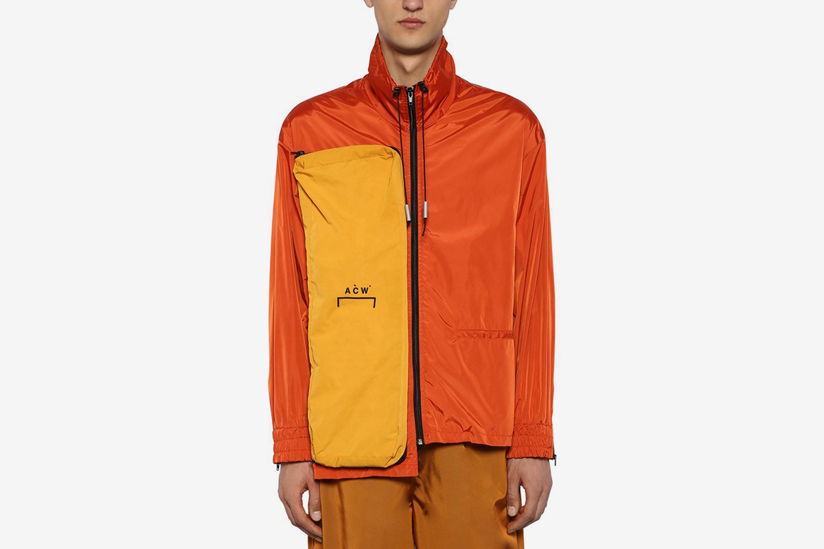 Asymmetrical Multi Zip Jacket