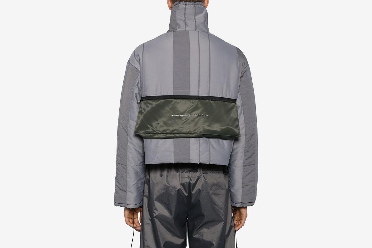 Puffer Jacket W/ Detachable pockets