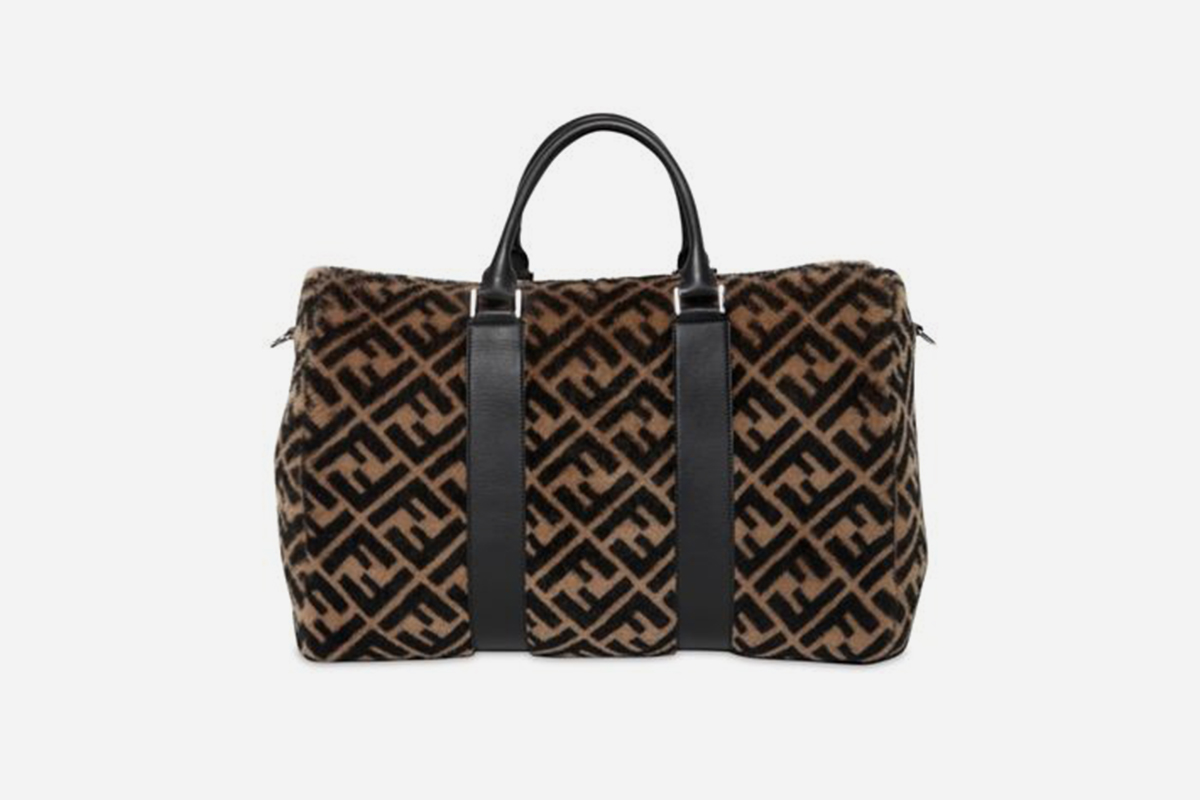 Fur Duffle Bag