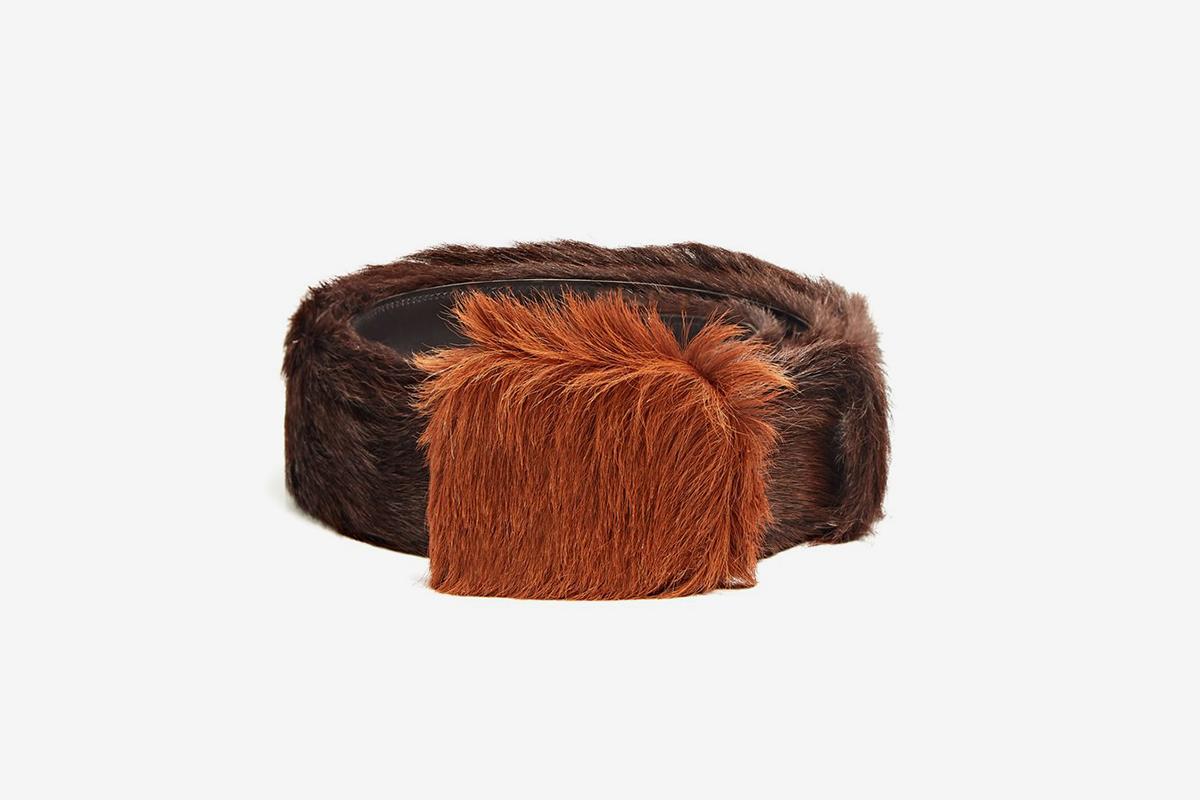 Calf-Hair Belt