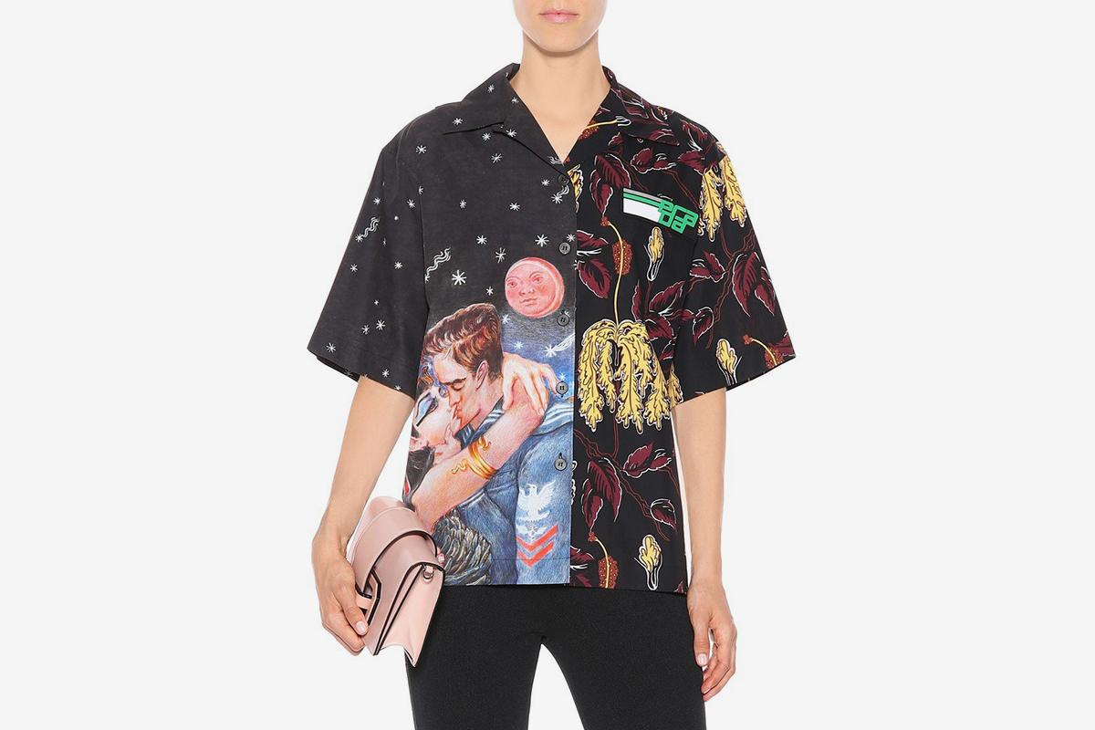 Floral & Couple Shirt