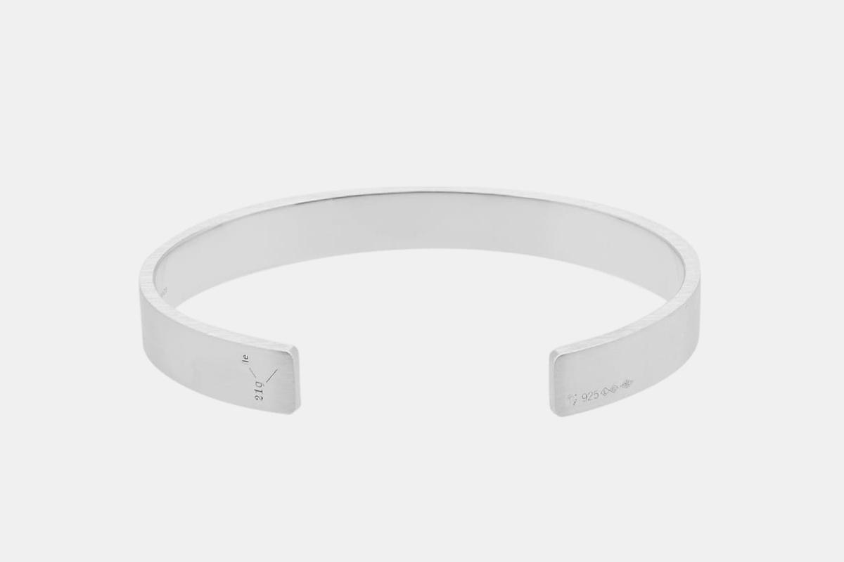 Brushed Ribbon Bracelet
