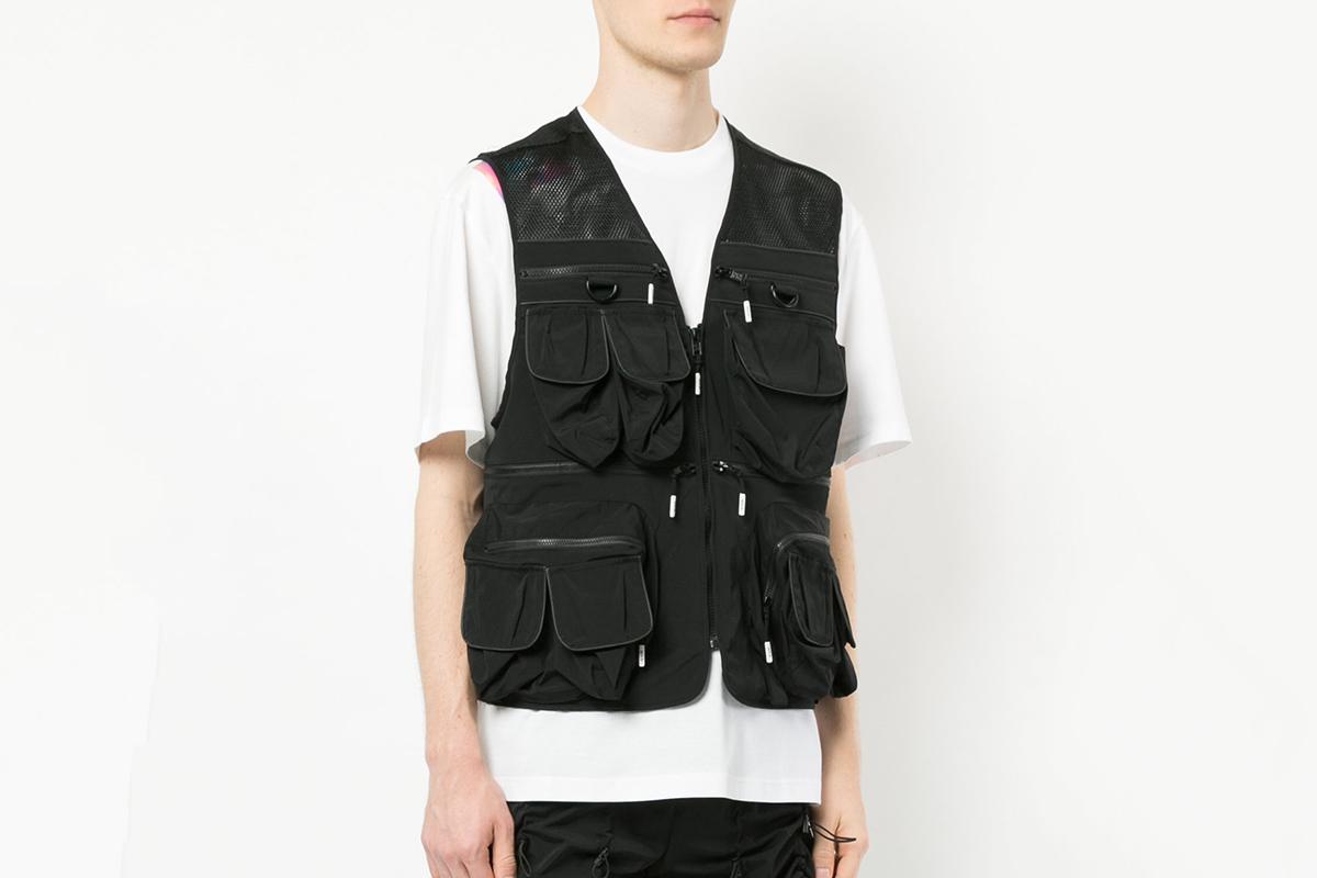 Embellished Zip Vest