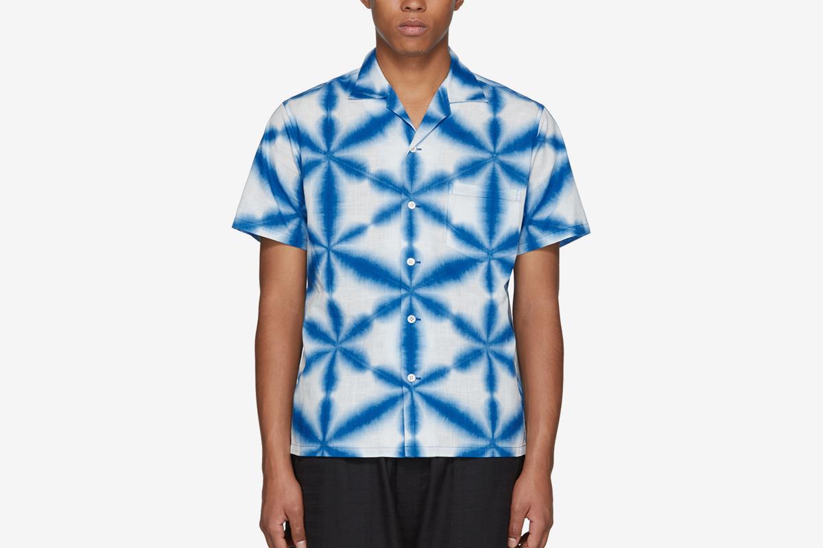 Snowflake Tie-Dye Shirt