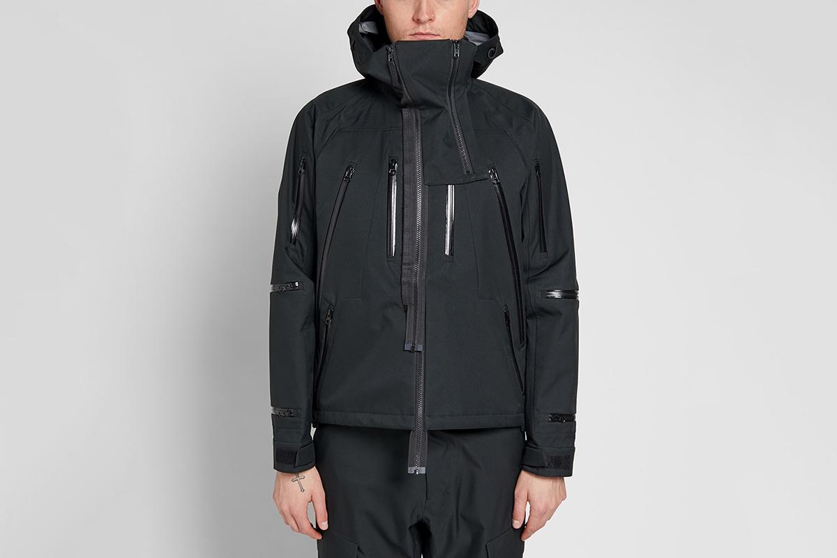 Detachable Hood Membrane Jacket