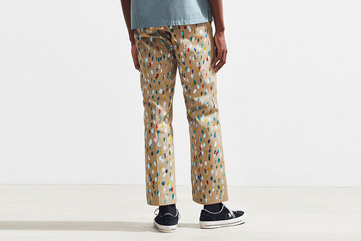 Hand-Painted Work Pant