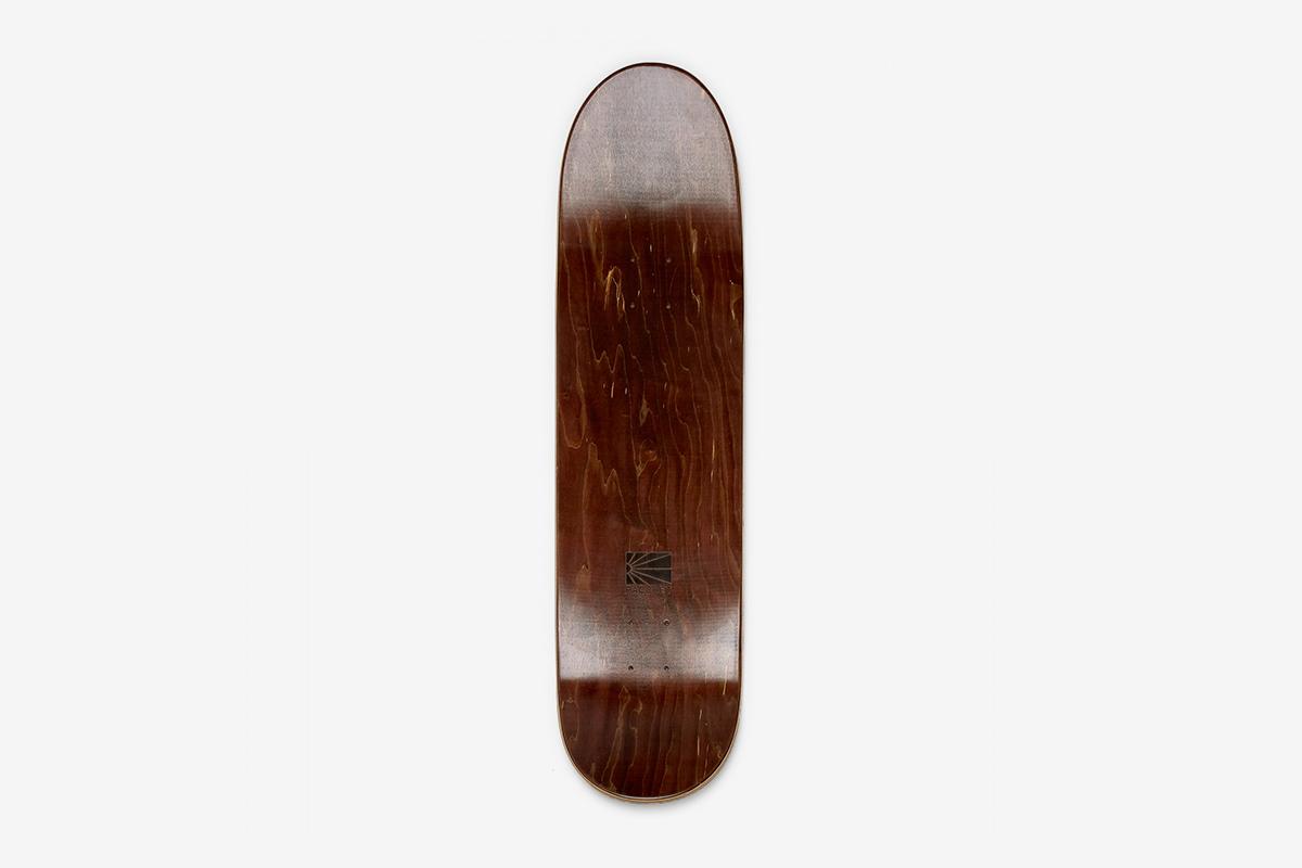 OKTYABR Skateboard Shape A