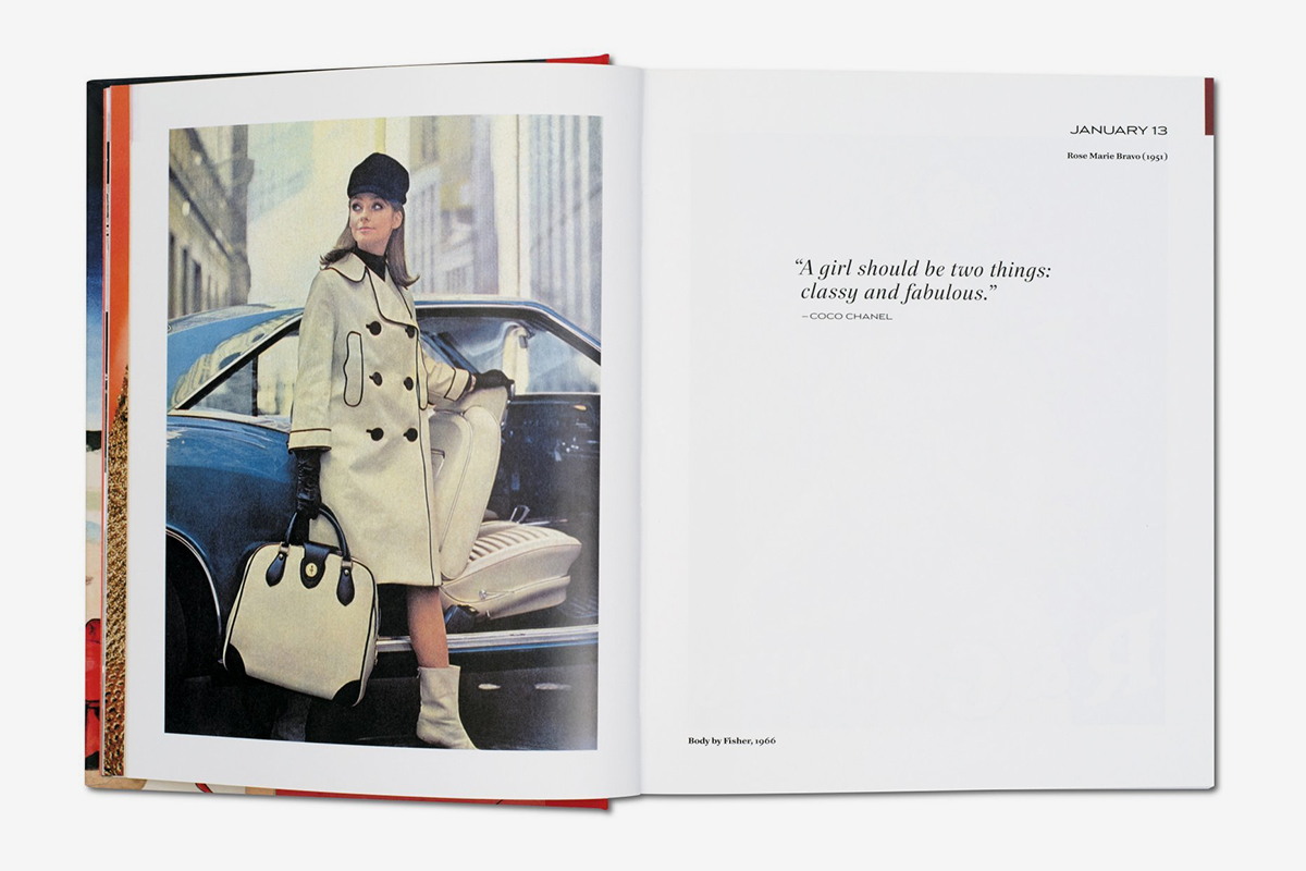 TASCHEN 365 Day-by-Day. Fashion Ads of the 20th Century