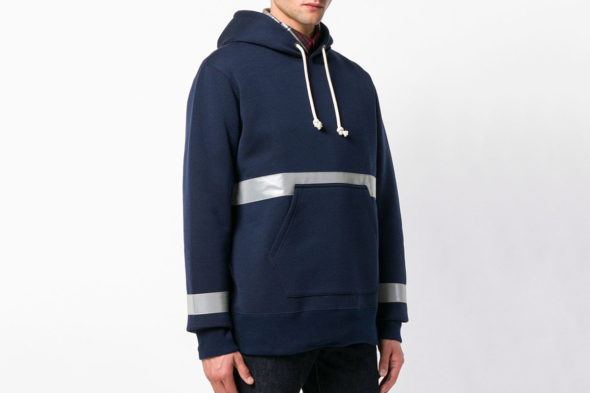 Reflective Stripes Hoodie