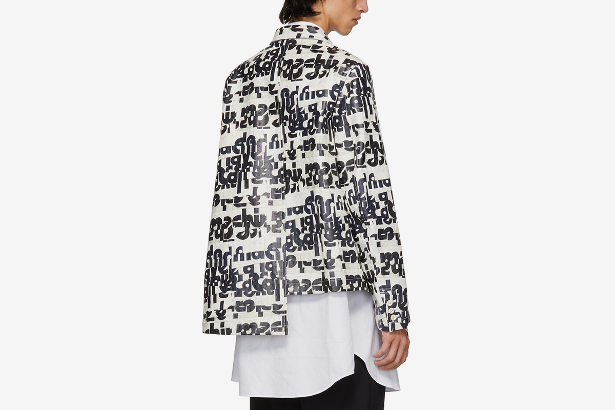 Embossed Jacket