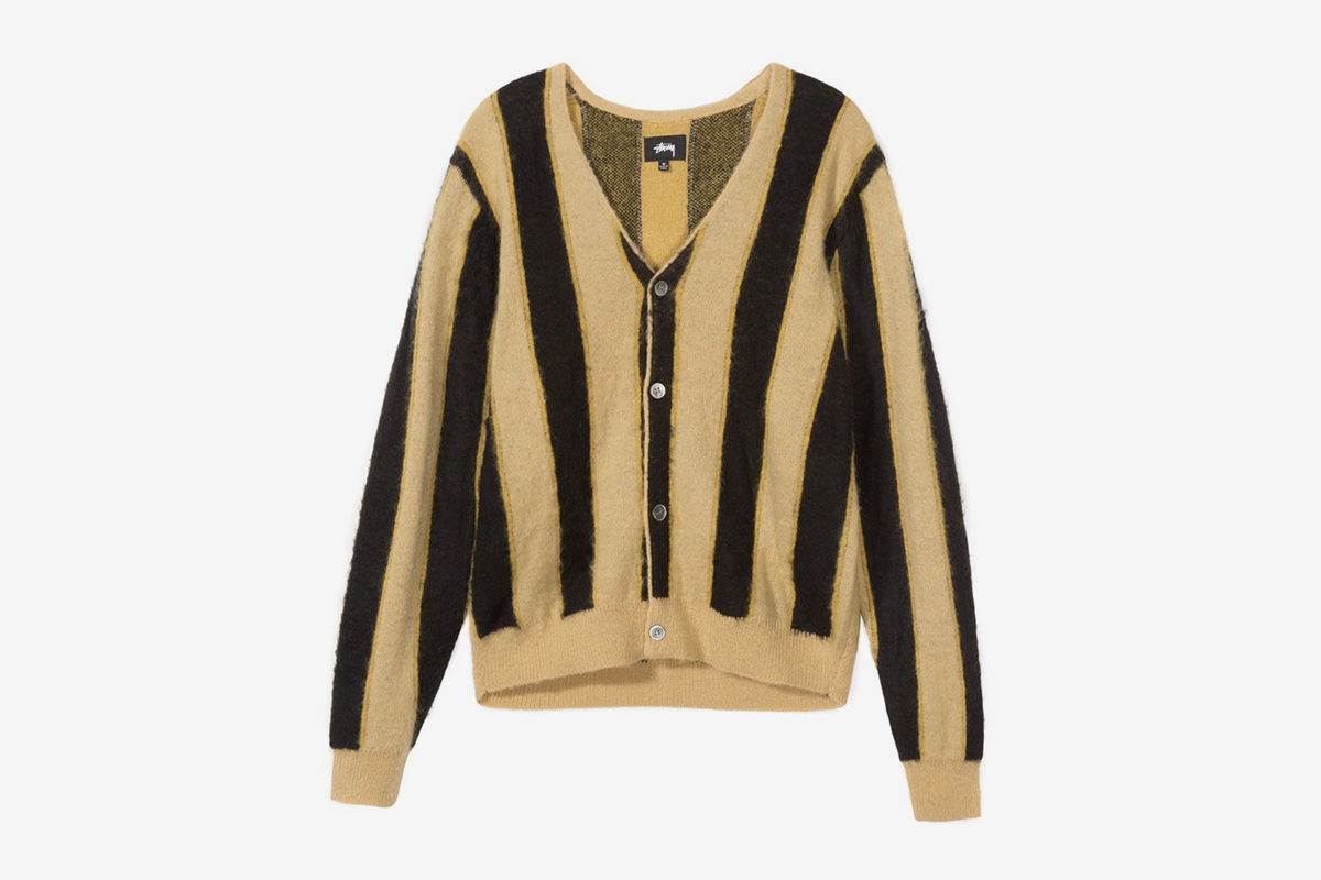 Vertical Stripe Cardigan