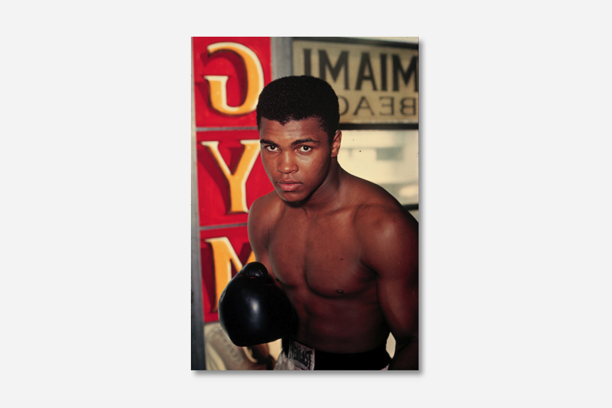 Cassius Clay, 5th Street Gym, Miami, 1963