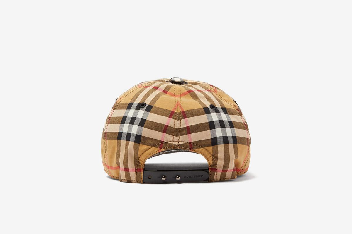 Vintage Check Cap