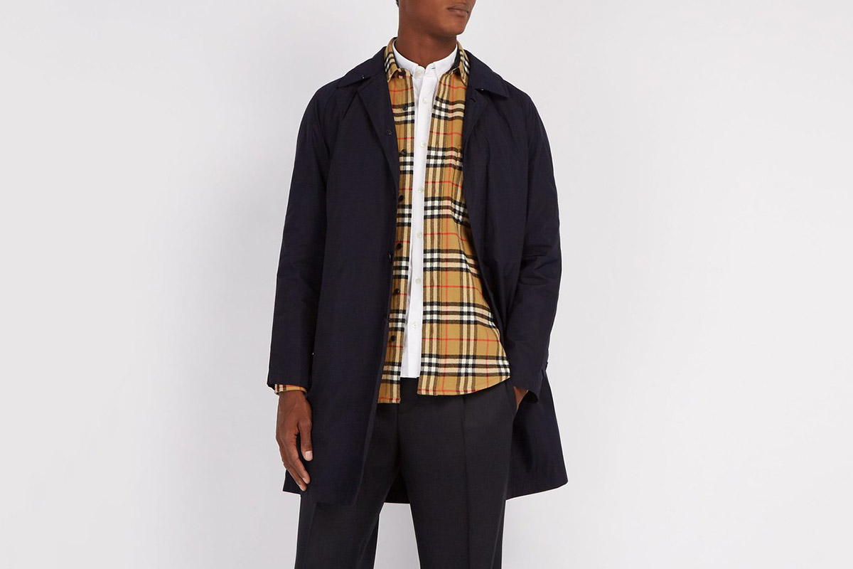 Lyndhurst Vintage Check Wool Shirt