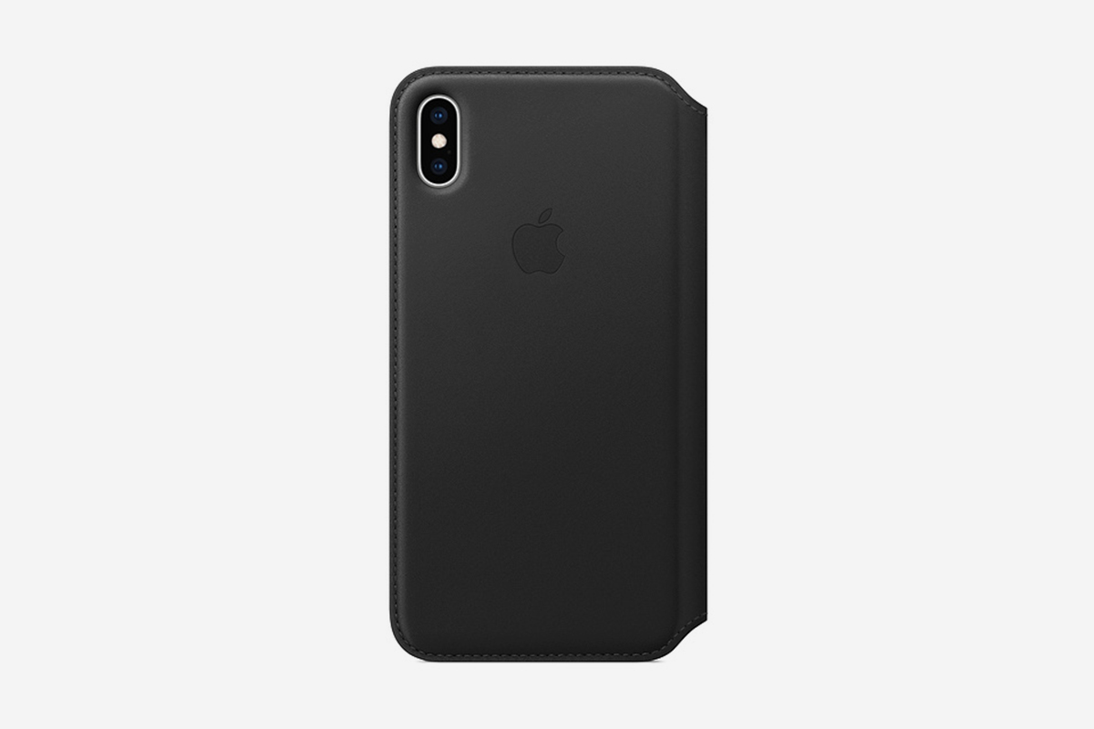 iPhone XS Max Leather Folio