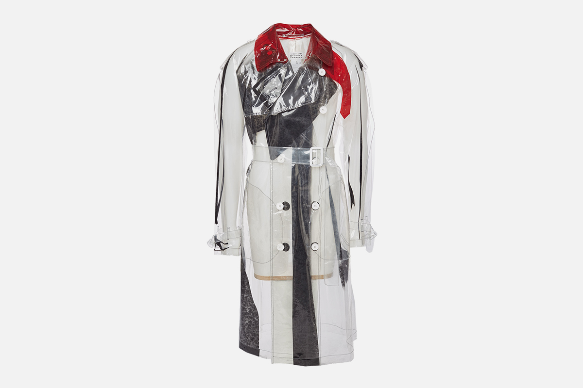 Transparent Trench Coat