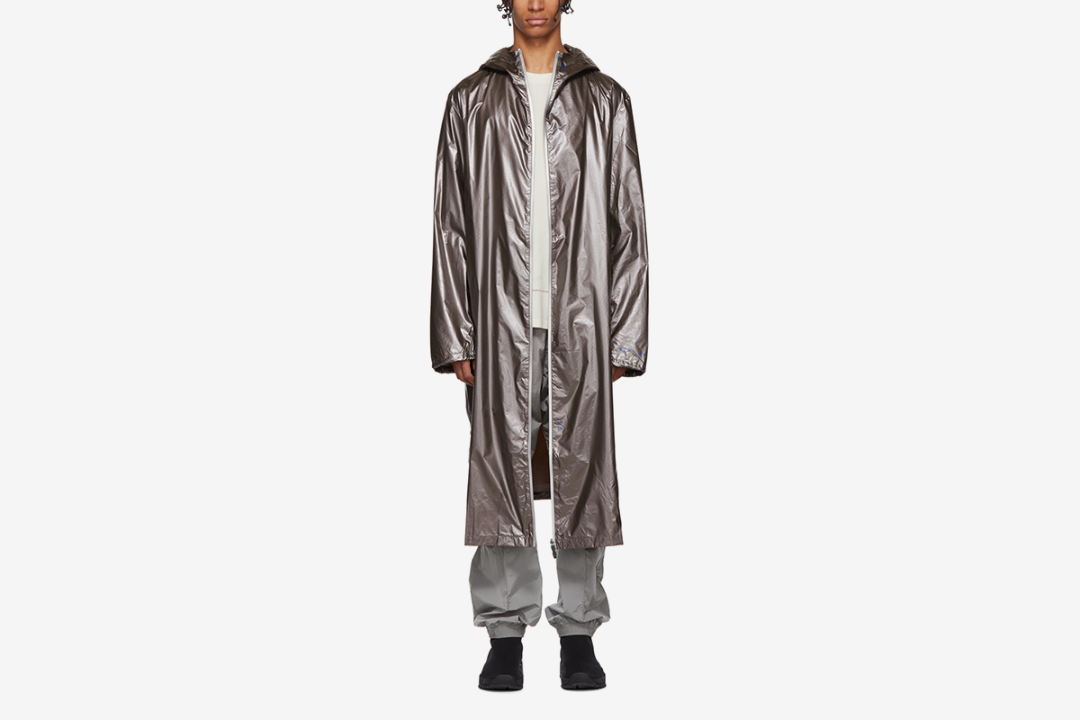 Metallic Long Coat